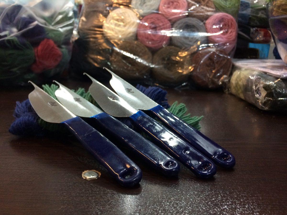 چاقو و قلاب قالی